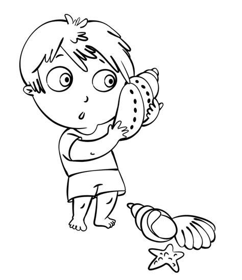 disegni da colorare mare per bambini disegno per bambini da colorare gratis bambini vacanza