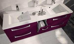 Meuble Salle De Bain 140 Cm : meuble de salle de bain suspendre brooklyn a suspendre ~ Dailycaller-alerts.com Idées de Décoration