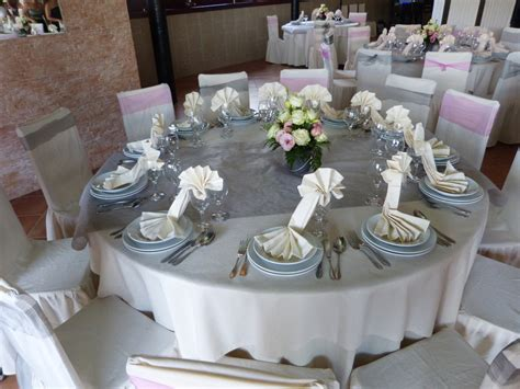 exemple deco table ronde mariage deco table mariage le mariage