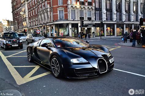 bugatti veyron  super sport  noir  february
