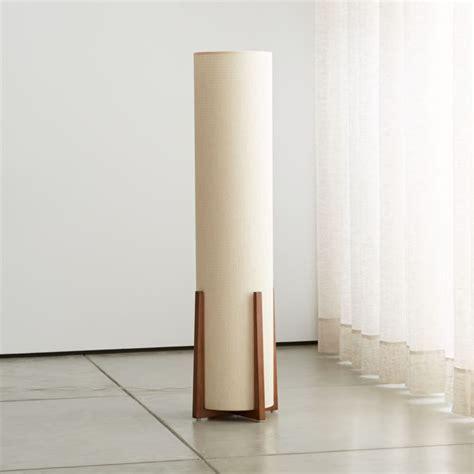 weave natural floor lamp crate  barrel