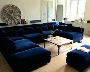 Canapé Bleu Marine : canape bleu marine ~ Teatrodelosmanantiales.com Idées de Décoration