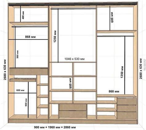 Closet Dimentions by 30 Custom Standard Wardrobe Closet Design Guidelines