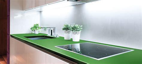 Kuchenarbeitsplatte Glas by K 252 Chenarbeitsplatten Aus Glas Culina Luce