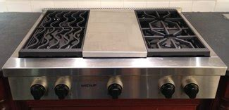 wolf  miele gas cooktops pricesreviewsratings