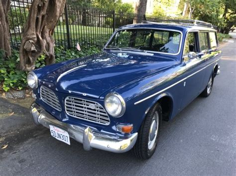 volvo     amazon wagon gorgeous california