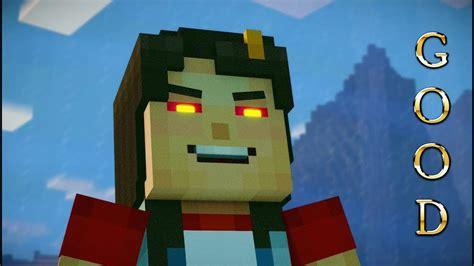 minecraft story mode season  episode  good choices jesse  friendly hippo reddy youtube