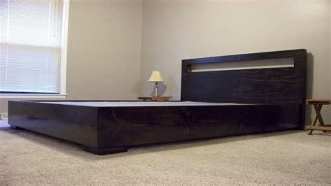 platform bed frame  headboard clearance platform beds