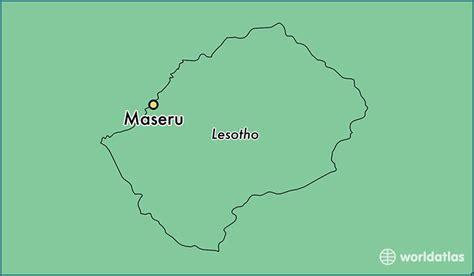 Where Is Maseru, Lesotho? / Maseru, Maseru Map