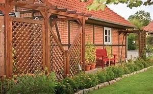 Pergola Holz Bausatz : sichtschutz zaun carport terrasse aus holz von scheerer pergolen ~ Yasmunasinghe.com Haus und Dekorationen