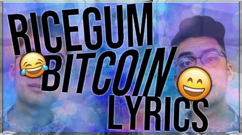 @lionelralaurent more stories by lionel laurent the financeindustry's attitude to automation and technical innovation resembles the old. RiceGum - Bitcoin (LYRICS) - YouTube