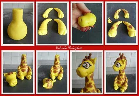 giraffe figurine fondant tutorial how 2 cakes tutorials figurine and fondant