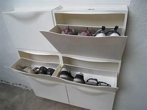 Porte Chaussures Ikea : meuble chaussures ikea trones blanc ~ Teatrodelosmanantiales.com Idées de Décoration