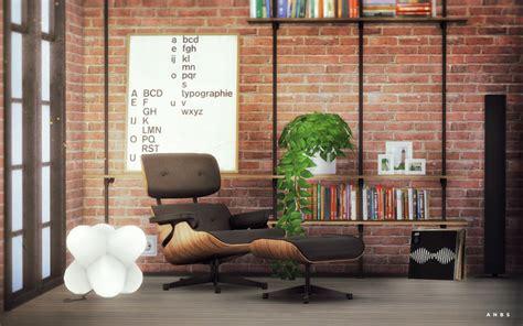 eames lounge chair  alachie liquid sims