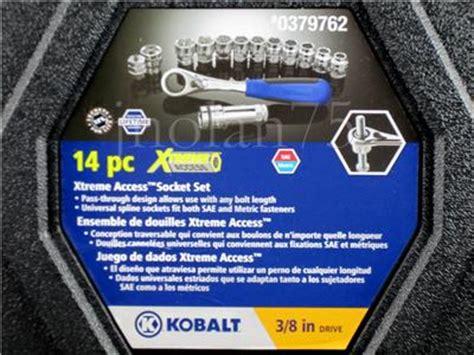 kobalt xtreme access 14 pc pass through tool set 3