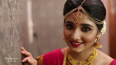 traditional south indian bridal  muhurtham makeover