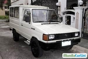 Toyota Tamaraw Fx Manual 1996 For Sale