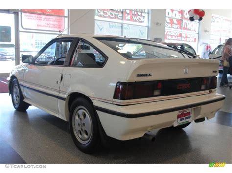 1986 Greek White Honda Civic Crx Si 36332820 Photo 4