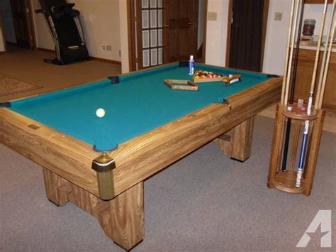 7ft pool table for sale brunswick pool table 7ft slate moving for sale in east