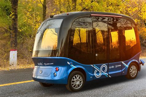 baidu will launch its autonomous buses in japan next year the verge