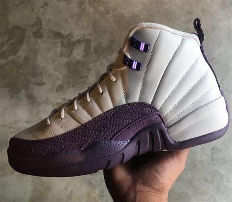 air jordan  desert sand pro purple   release