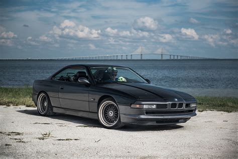 BMW 8 Series Coupe Schwarz - Classic BMW Cars