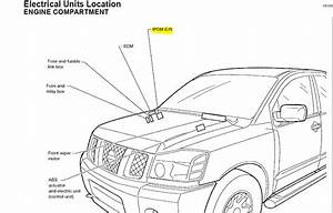 Where Is The Ipdm Located On A  U0026 39 04 Nissan Titan And About