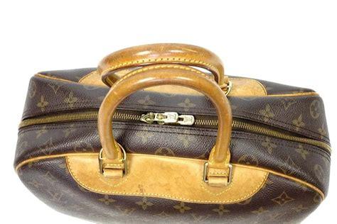 louis vuitton deauville travel handbag brown monogram leather shoulder bag tradesy