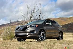 Ford Edge Avis : premier essai du ford edge 2019 actualit s automobile auto123 ~ Maxctalentgroup.com Avis de Voitures