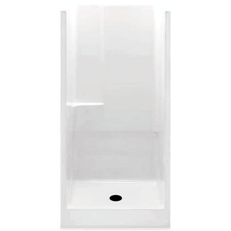 aquatic remodeline 36 in x 36 in x 72 in gelcoat 2 - 36 Shower Stall