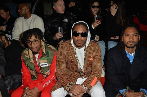 Metro Boomin', Future At The Off/white Fashion Show In