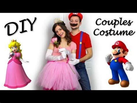 mario und luigi kostüm selber machen princess mario diy couples costume