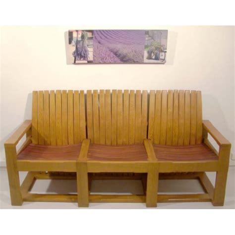 canap bois design photos canapé en bois massif