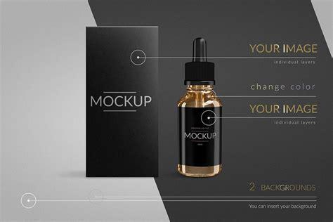vape smoking liquid bottle  liquid product mockups