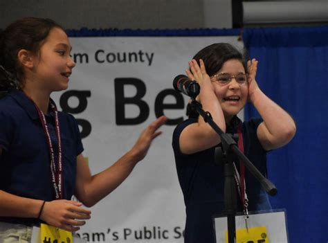 amit golan captures chatham county spelling bee title