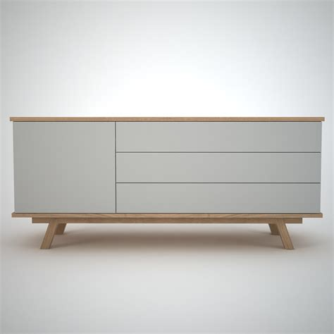 Sideboard Eiche Modern by Ottawa Sideboard 1 3 Clay Join Furniture