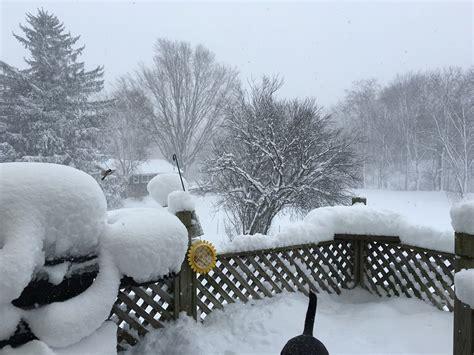 january    snow event