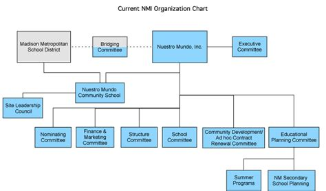 Non Profit Organizational Structure Chart