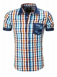 Chemise Homme A Carreau : chemise homme cintr carreau pas cher 9053 pour 29 90 ~ Melissatoandfro.com Idées de Décoration