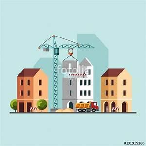"""""""Construction site, building a house. Under construction ..."""