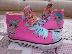 CUSTOM DESIGN LOL DOLL SHOES KIDS PUMPS by TheCraftyOwl46