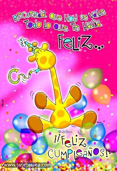 vera 169 zea www tarjetaszea feliz cumple best happy birthday and birthdays ideas