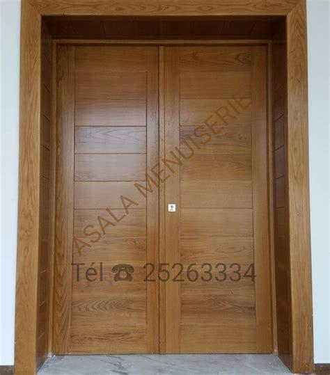 portes en bois nobles Meubles et décoration Tunisie