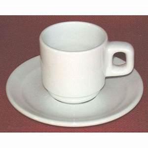 Service Tasse à Café : tasse caf 9 cl avec soucoupe oslo pyroblanc achat ~ Teatrodelosmanantiales.com Idées de Décoration