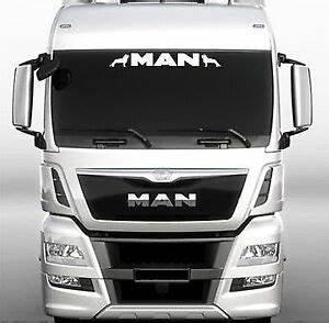 Stickers Pare Brise : man truck screen sticker decal for lorry cab windscreen glass ebay ~ Medecine-chirurgie-esthetiques.com Avis de Voitures