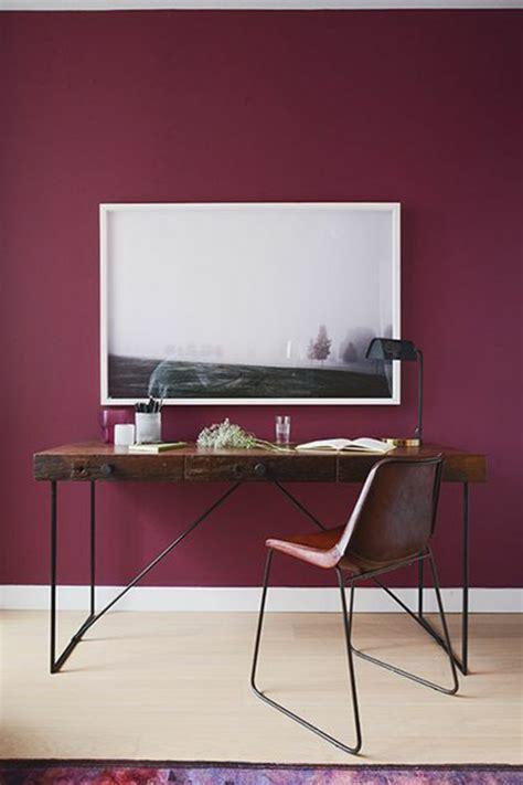 chambre couleur bordeaux la couleur bordeaux un accent dans l intérieur contemporain