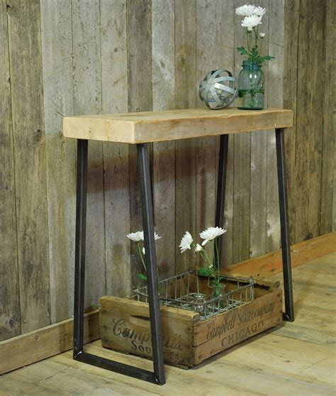 rustic wood table ls the beauty of rustic console table home furniture and decor