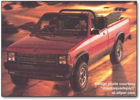 Dodge Dakota mid sized pickup trucks, 1987 1996