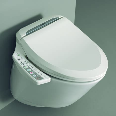 Toilet With Bidet Feature by Nic6000 Electronic Bidet Toilet