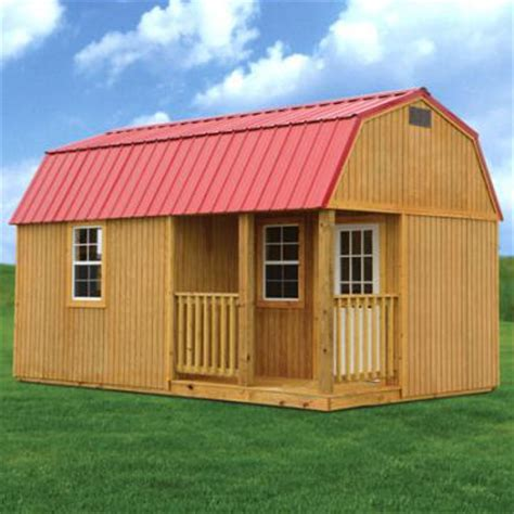 lofted barn cabin for rent to own storage buildings sheds garages carports barns